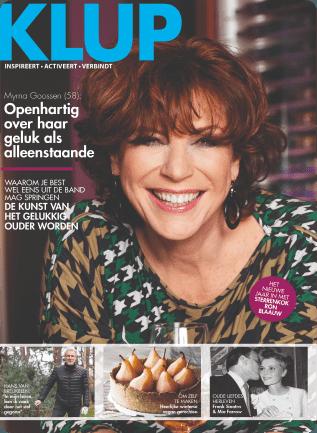 Myrna Goossen Klup Magazine