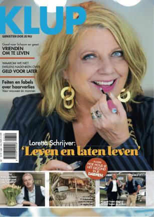 Loretta Schrijver Klup Magazine