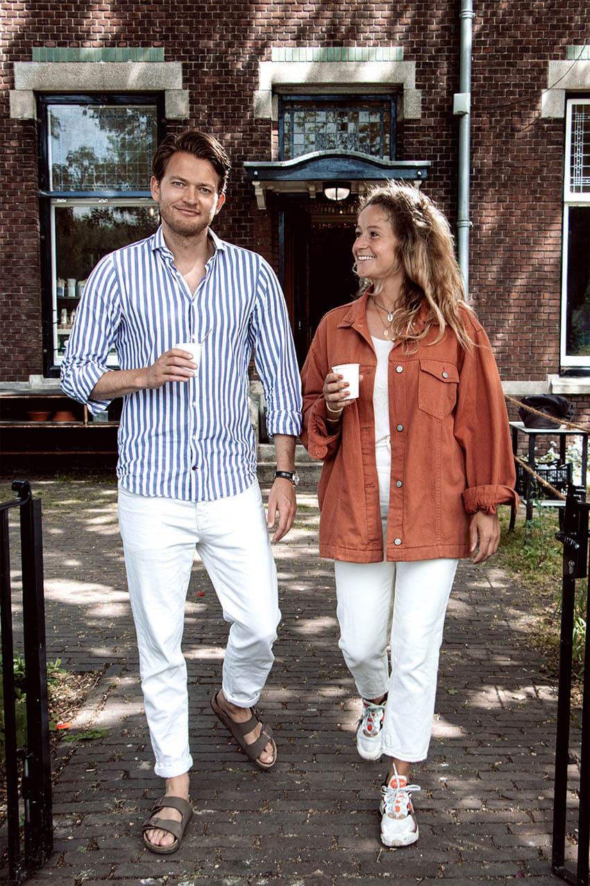 Oprichters Klup Michiel en Michelle